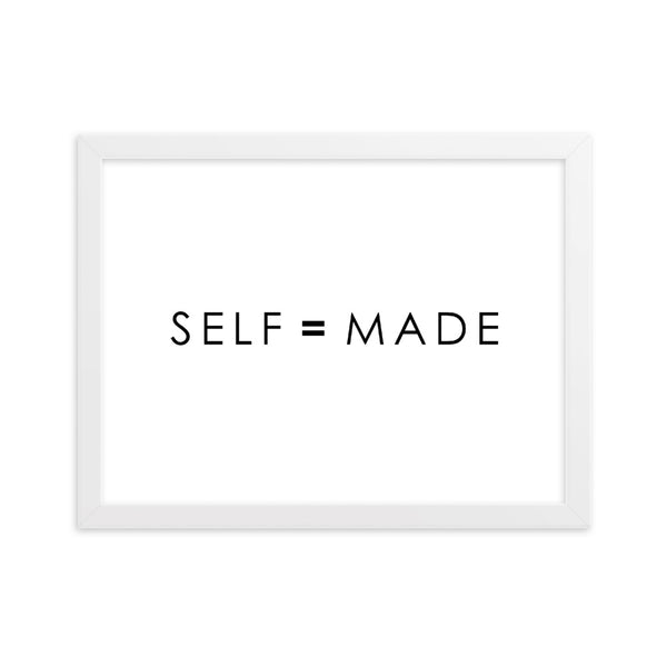 SELF = MADE - WHITE