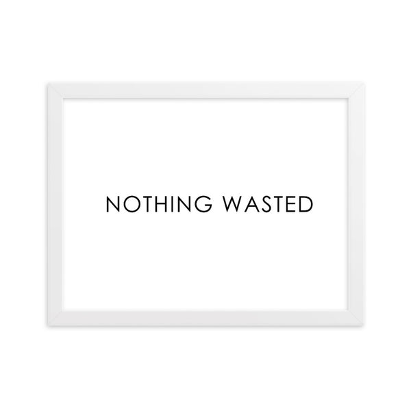 NOTHING WASTED - WHITE