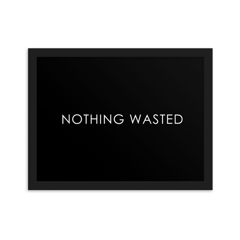 NOTHING WASTED - BLACK