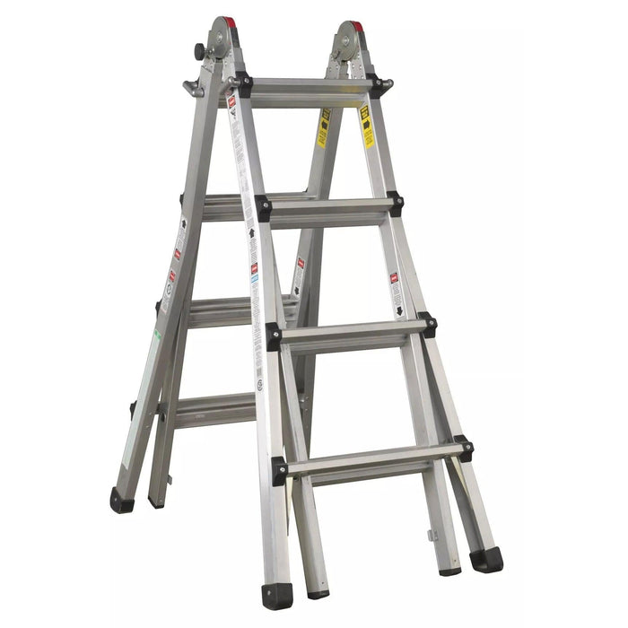 ES-25T1A: 6x4 Aluminum Telescopic Ladder