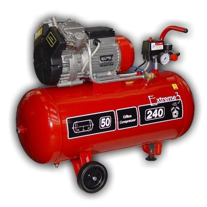 Extreme 3 50L: Oil Free Air Compressor 1.5 HP 50 L