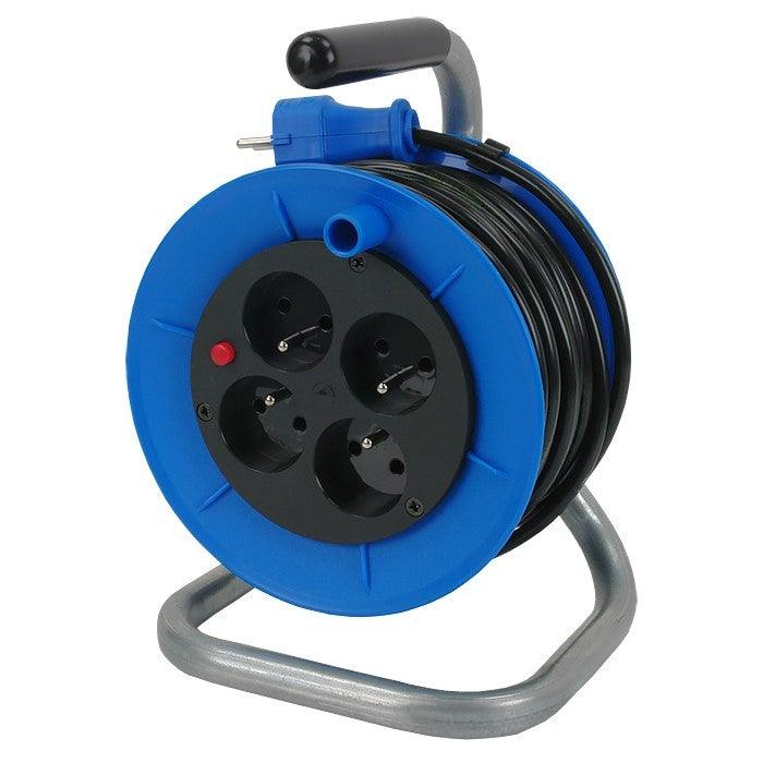 PLCR-50: Industrial Cable Reel 2.5mmx50m
