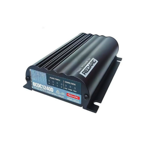 12 Volt Dual Input 40A In-vehicle DC Battery Charger - Micks Gone Bush