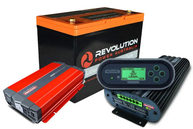 Revolution Power Manager30 100Ah 1000w RedArc Inverter Kit - Micks Gone Bush