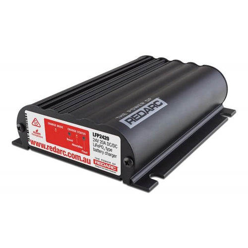 REDARC 24V 20A In-Vehicle LiFePO4 Battery Charger (Low Voltage) | Mikes Gone Bush