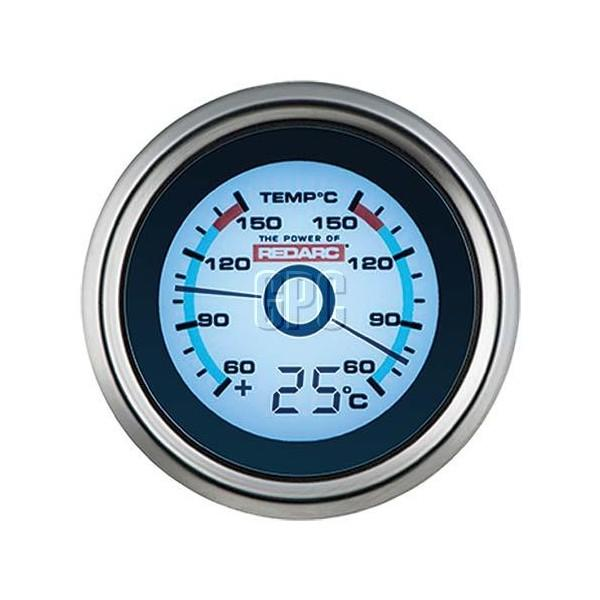 Redarc Dual Temperature 52mm Gauge with optional temperature display | Mikes Gone Bush