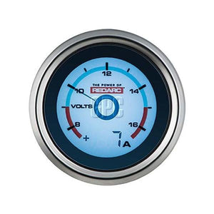 Redarc Single Voltage 52mm Gauge with optional current display | Mikes Gone Bush