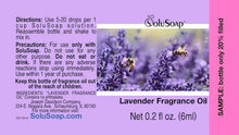 Load image into Gallery viewer, Lavender Fragrance Oil for SoluSoap Foaming Hand Soap