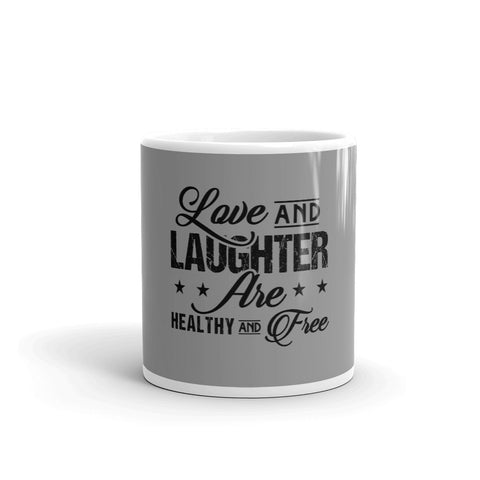 """Love and Laughter"" Mug"