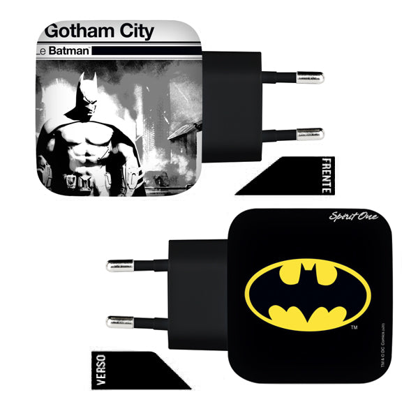 Fonte Batman - Gotham City - Oficial Warner