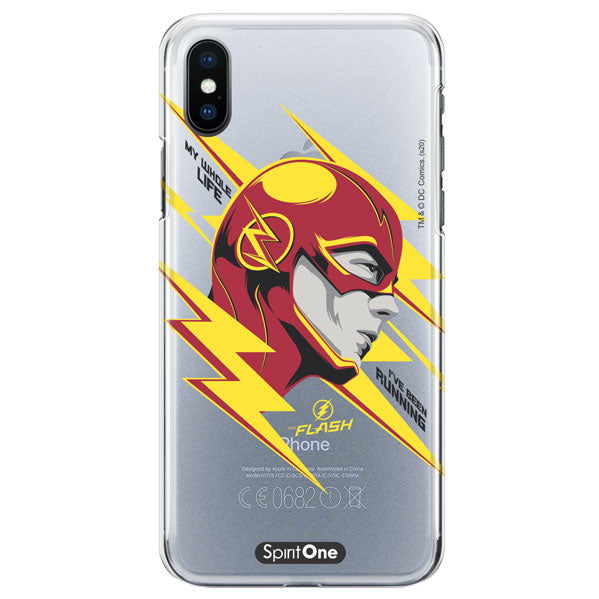 Capinha The Flash - My Whole Life - Transparente - Oficial Warner