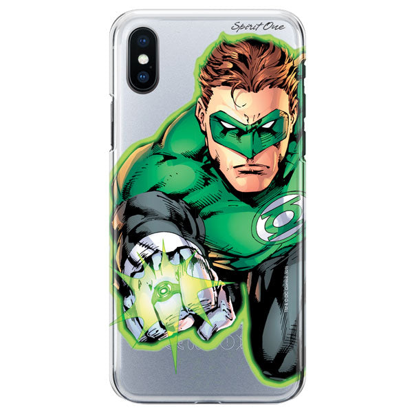 Capinha Lanterna Verde - Power Ring - Transparente - Oficial Warner