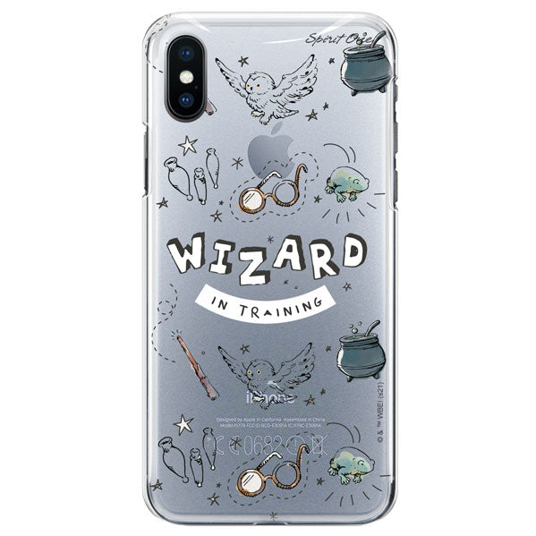 Capinha Harry Potter - Wizard - Transparente -  Oficial Warner