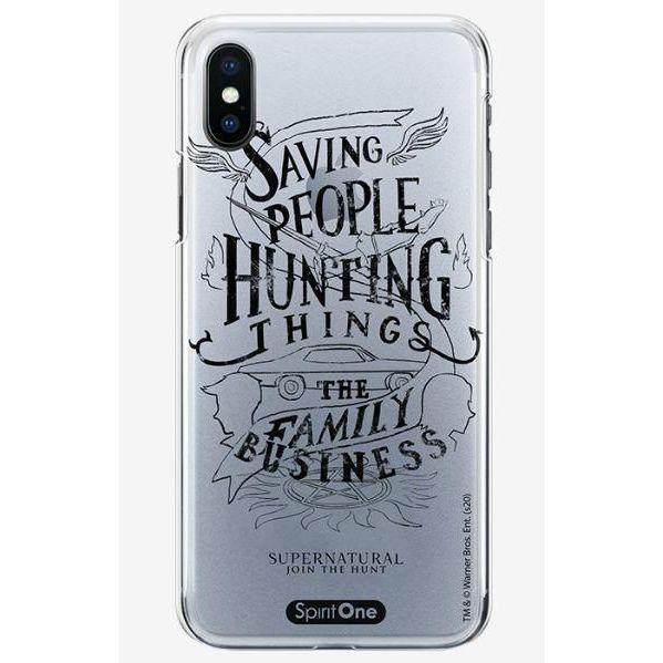 Capinha Supernatural - Saving People Hunting Things - Transparente - Oficial Warner - Spirit One - Para quem é Fã oficial