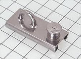 Schaefer Stainless T-Track Slider - Eye Slide, Spring, Lined