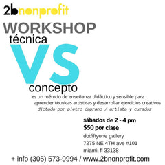 2018 WORKSHOP// Technic VS concept