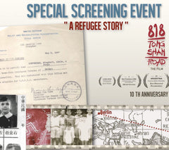 2015 NOV. 7 // SCREENING 818 Tong Shan Road Film - A Refugee Story.