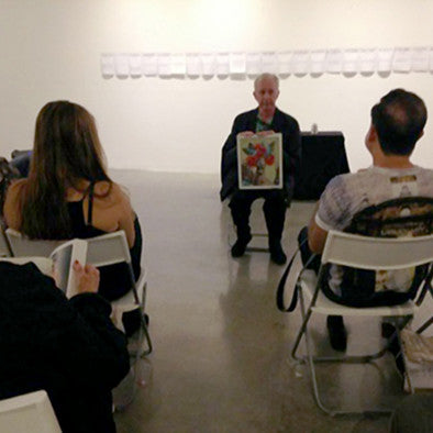2015 MARCH 25 // ARTIST TALK : DAVID LEDICK - GET NAKED