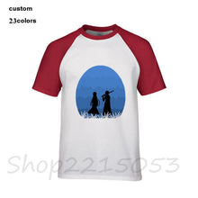 Load image into Gallery viewer, Asuna/Kazuto Silhouette Tee Shirt