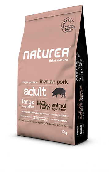 Naturea Naturals Adult Large Breed - Porco Ibérico
