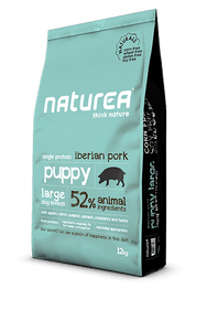 Naturea Naturals Puppy Large Breed - Porco Ibérico