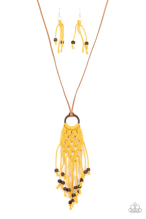 Its Beyond MACRAME! - Yellow