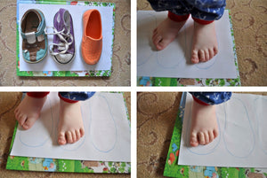 What happens inside your child's shoe?