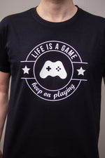 Laden Sie das Bild in den Galerie-Viewer, Life is a Game T-Shirt