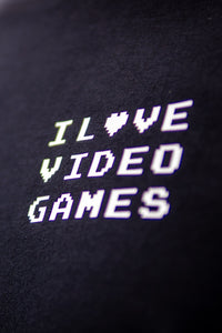 I Love Video Games T-Shirt