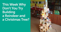 This Week Why Don't You Try Building a Reindeer and a Christmas Tree? | GIGI TOYS
