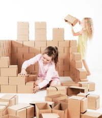 Gaint Cardboard Brick Building Blocks - GIGI Bloks
