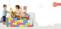 Multi-Coloured Cardboard Building Blocks for Kids - GIGI Bloks