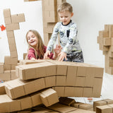 Giant Cardboard Building Blocks Set for Kids