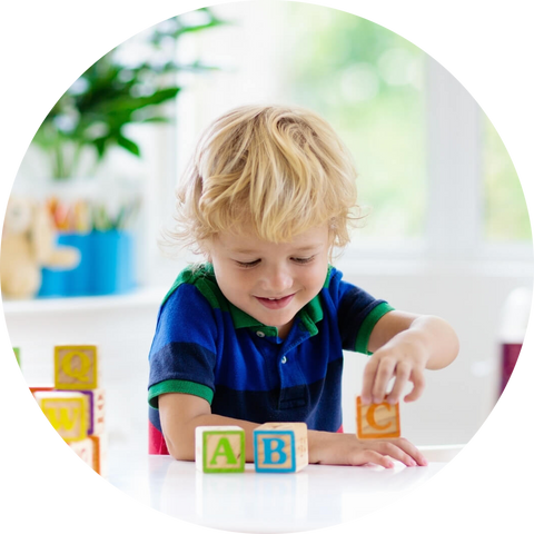 Blocks For Toddlers ABC