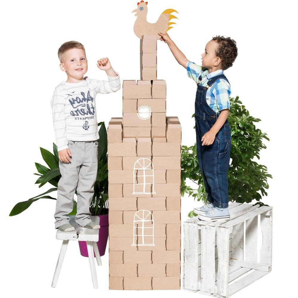 Huge 100 XXL Building Blocks Set for Kids - GIGI Bloks
