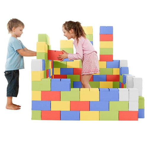 GIGI BLOKS 200 XXL BUILDING BLOCKS COLOR - GIGI TOYS