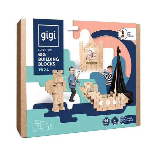 Big Building 96XL Pieces Blocks For Kids - GIGI Bloks