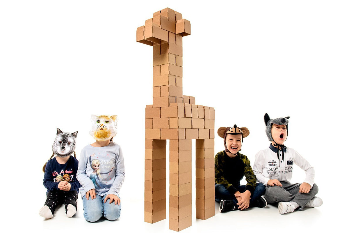 Real-Sized Building Blocks for Children - GIGI Bloks