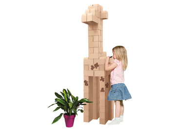 Kids Cardboard 96 XL Building Blocks For Kids