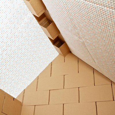 Cardboard Building Blocks - Roof Set