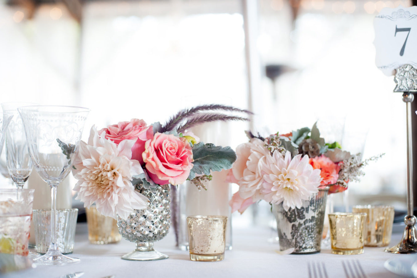 15 Inspiring Wedding Table Top Decorations