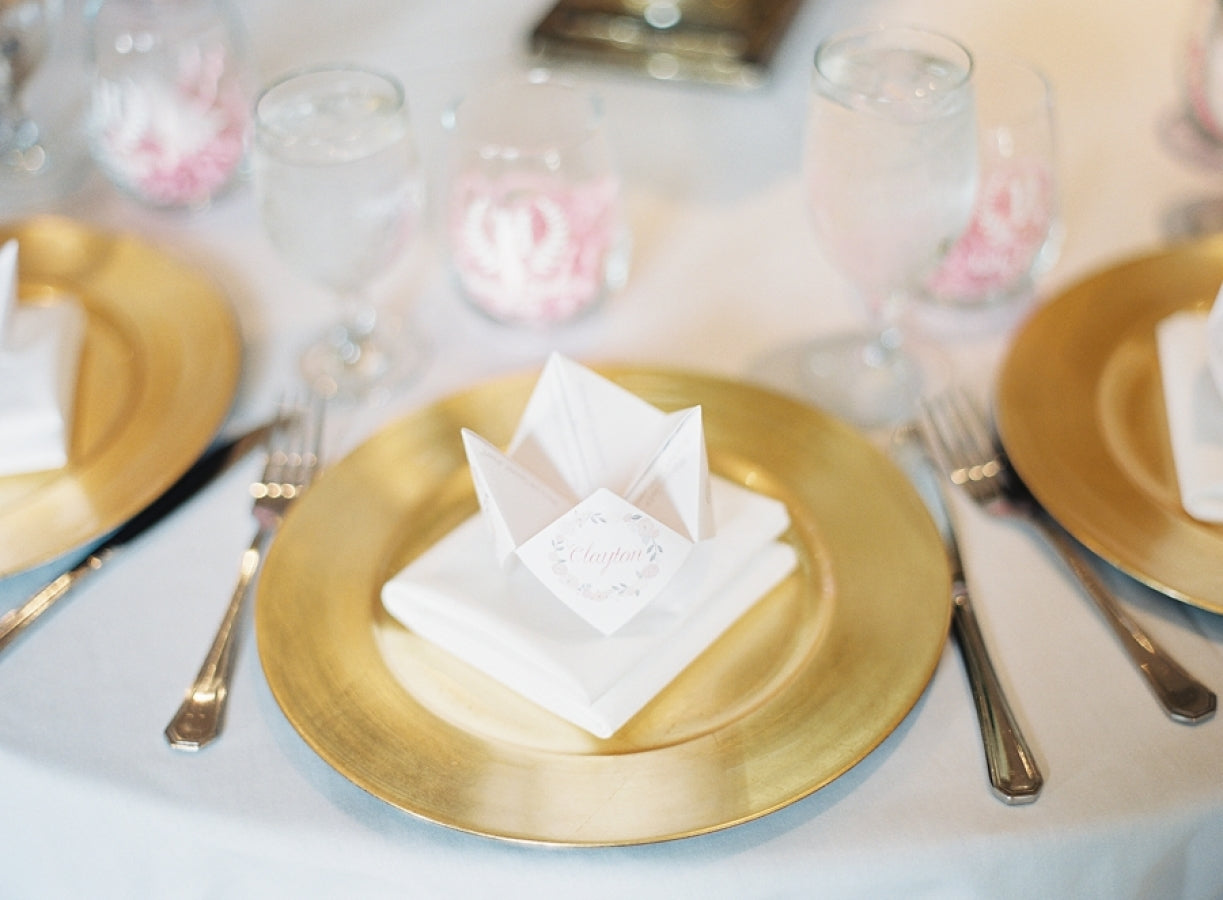 26 Wedding Plate Setting Ideas