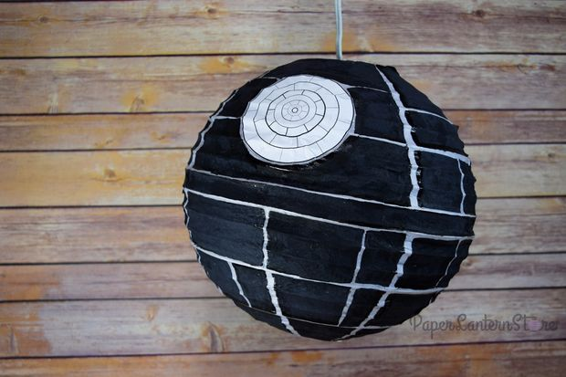 DIY Death Star Paper Lantern