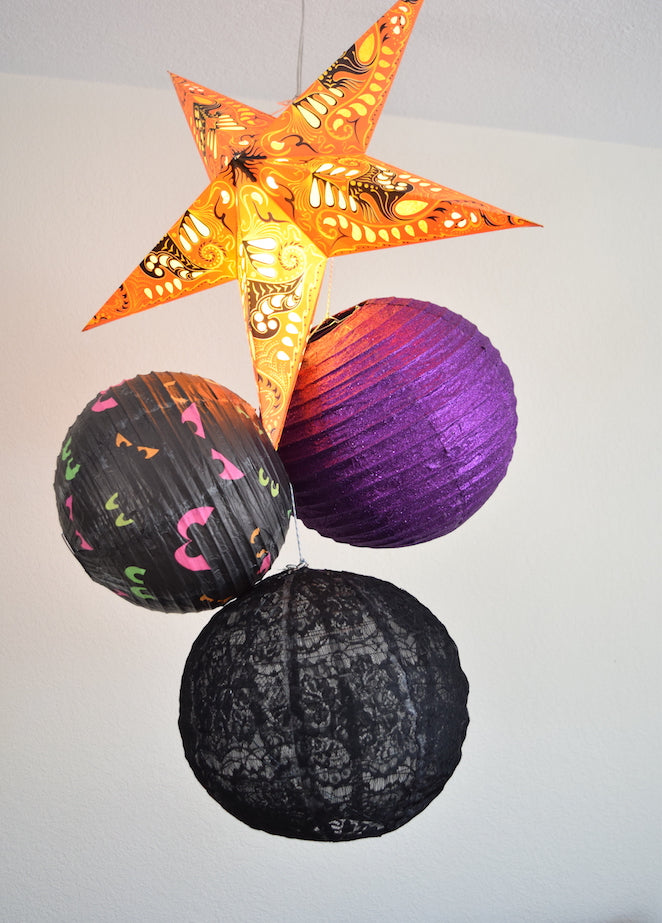 Easy Halloween DIY Hanging Decoration