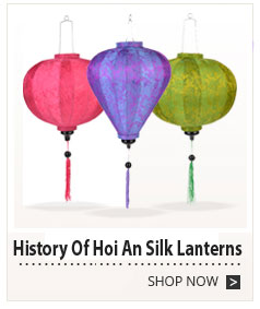 History Of Hoi An Silk Lanterns