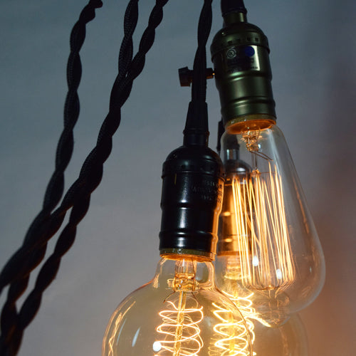 How To Hang a Paper Lantern Using Single Pendant Light Cord
