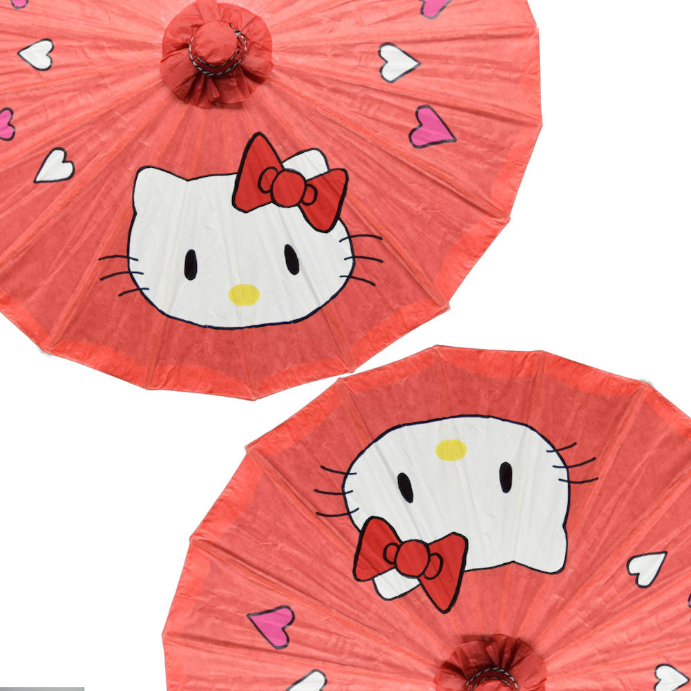 Kid's Craft: DIY Hello Kitty Paper Parasol