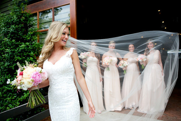 "Wedding Veils That Would Make You Say ""I do"""