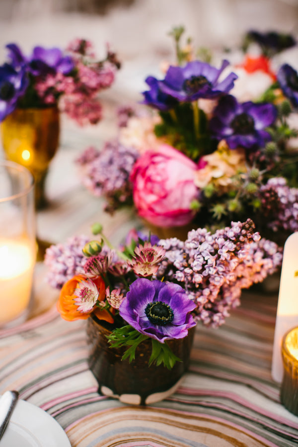 Wedding Details in Purple
