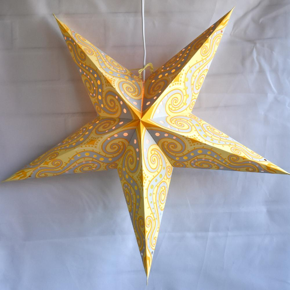 Yellow Star Lanterns